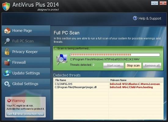 AntiVirus Plus 2014 rogue