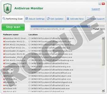 Antivirus Monitor virus