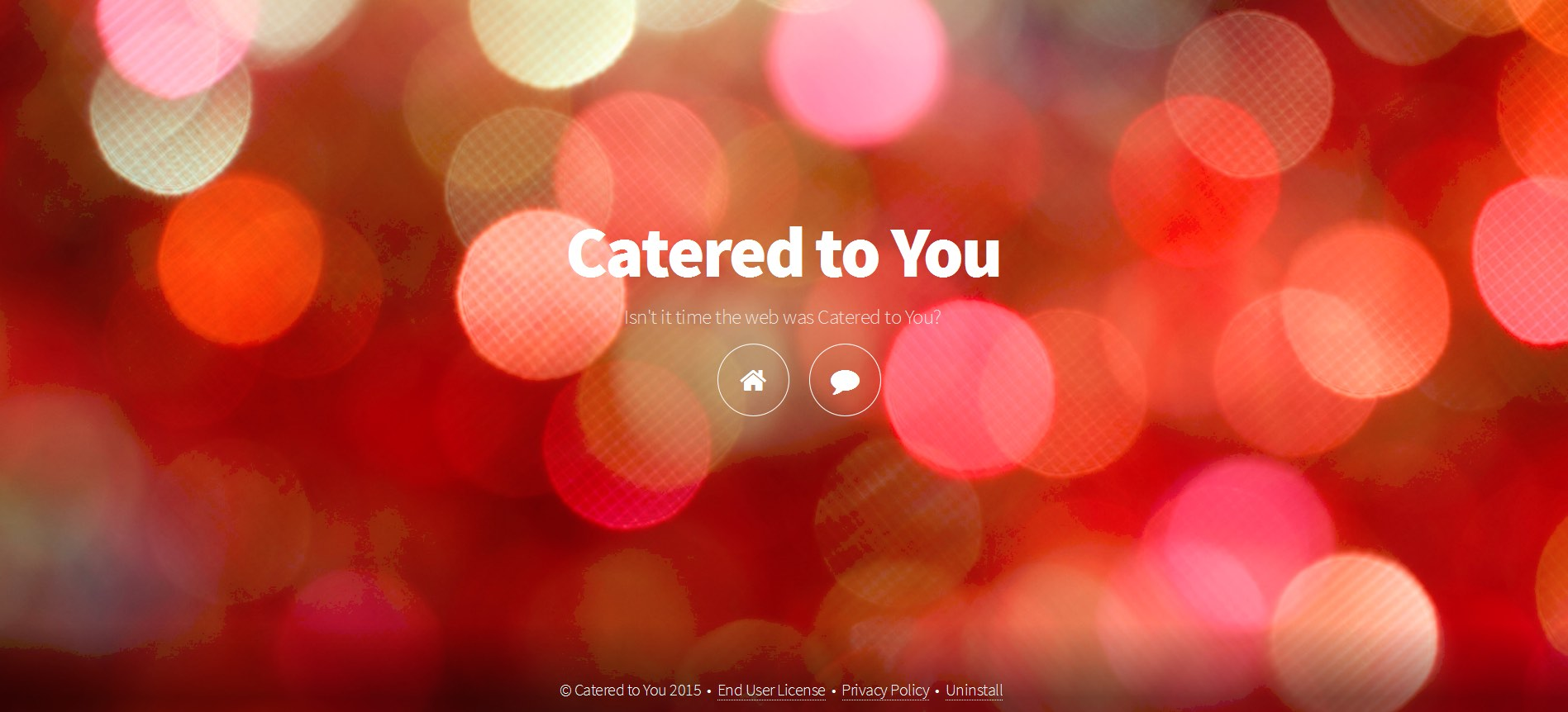 Catered to You