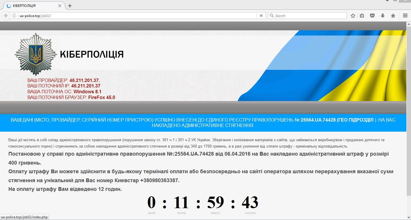 ua-police.top scam