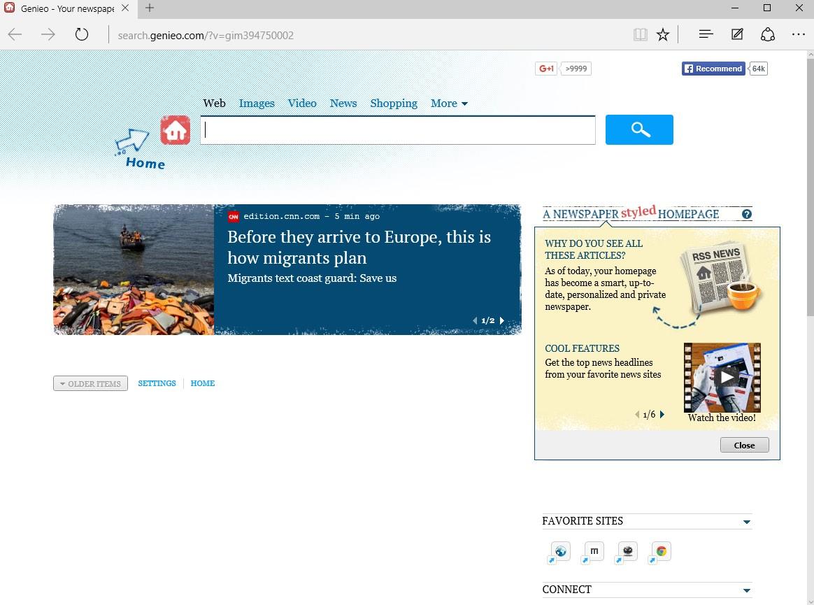 Search.genieo.com