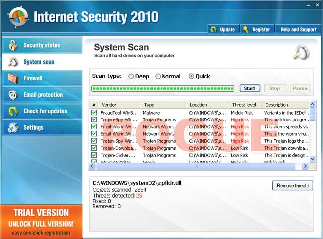 is2010 - rogue antivirus