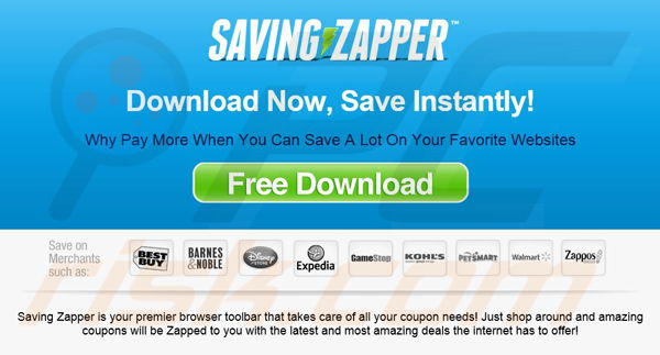 Saving Zapper