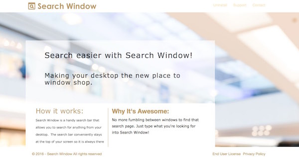 Search Window