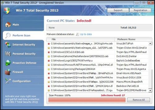 Win 7 Total Security 2012