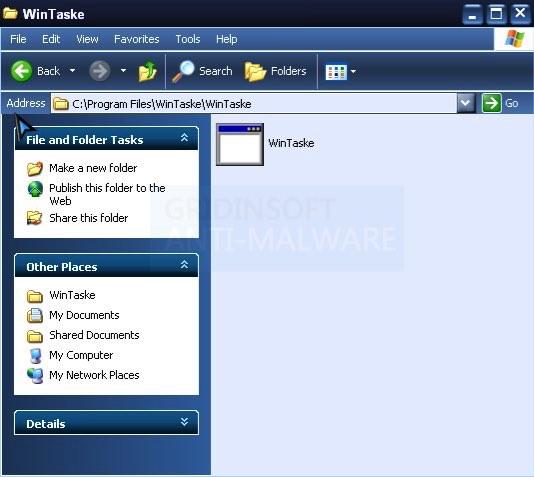 WinTaske.exe virus