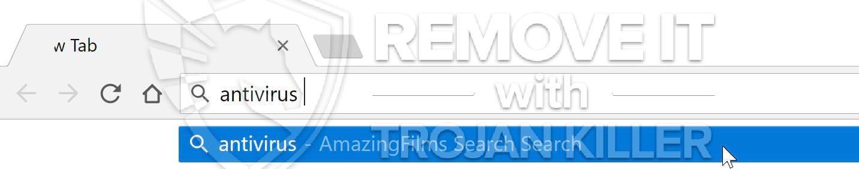AmazingFilms Search virus