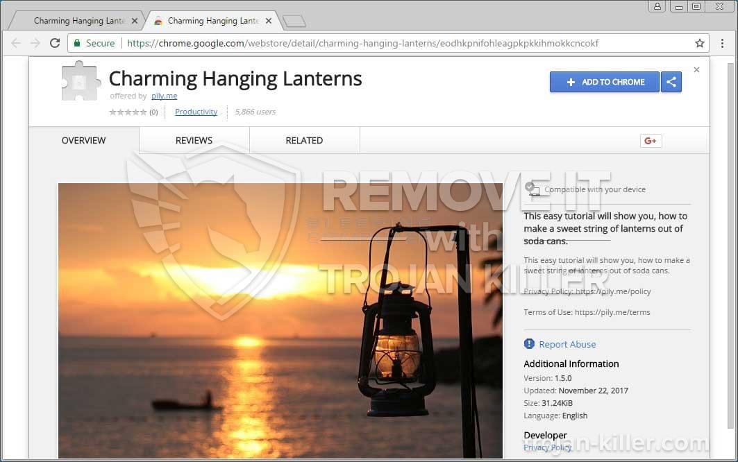 Charming Hanging Lanterns virus