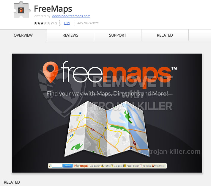download-freemaps.com virus