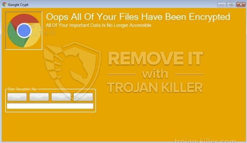 Google Crypt virus