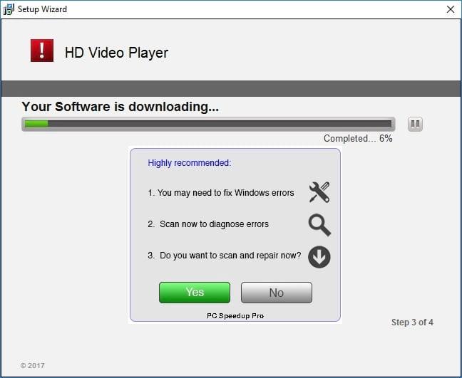 HD Video Player Setup