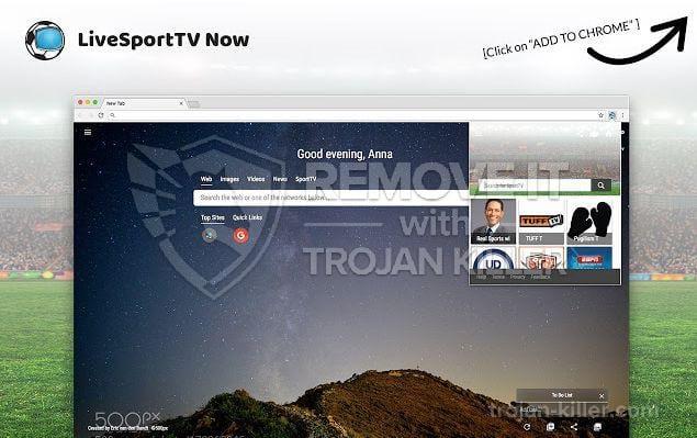 LiveSportTV Now virus