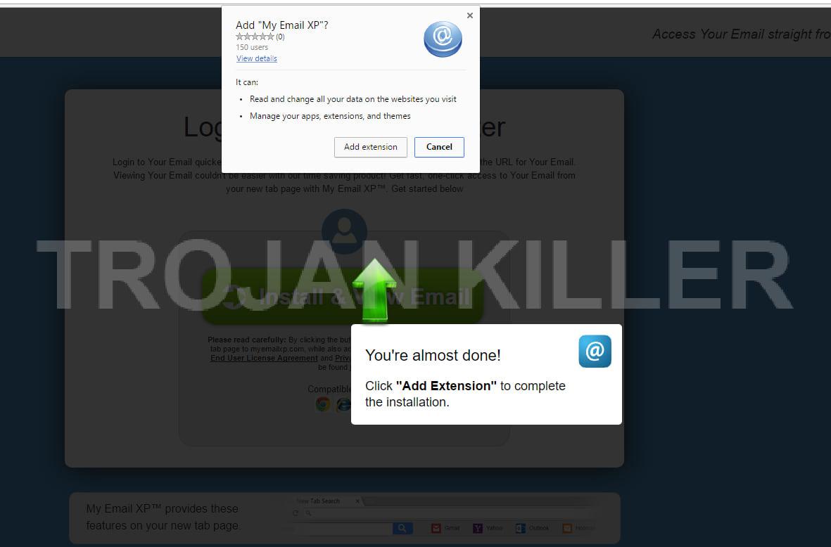 My Email XP virus