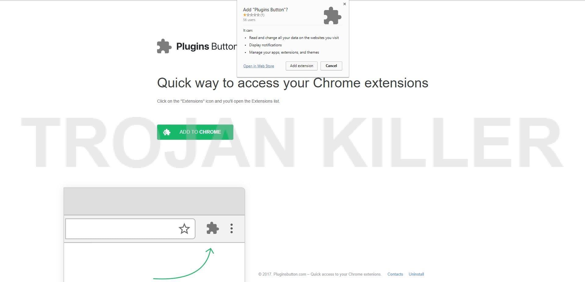 plugins button