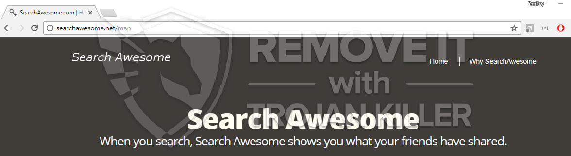 Search Awesome virus
