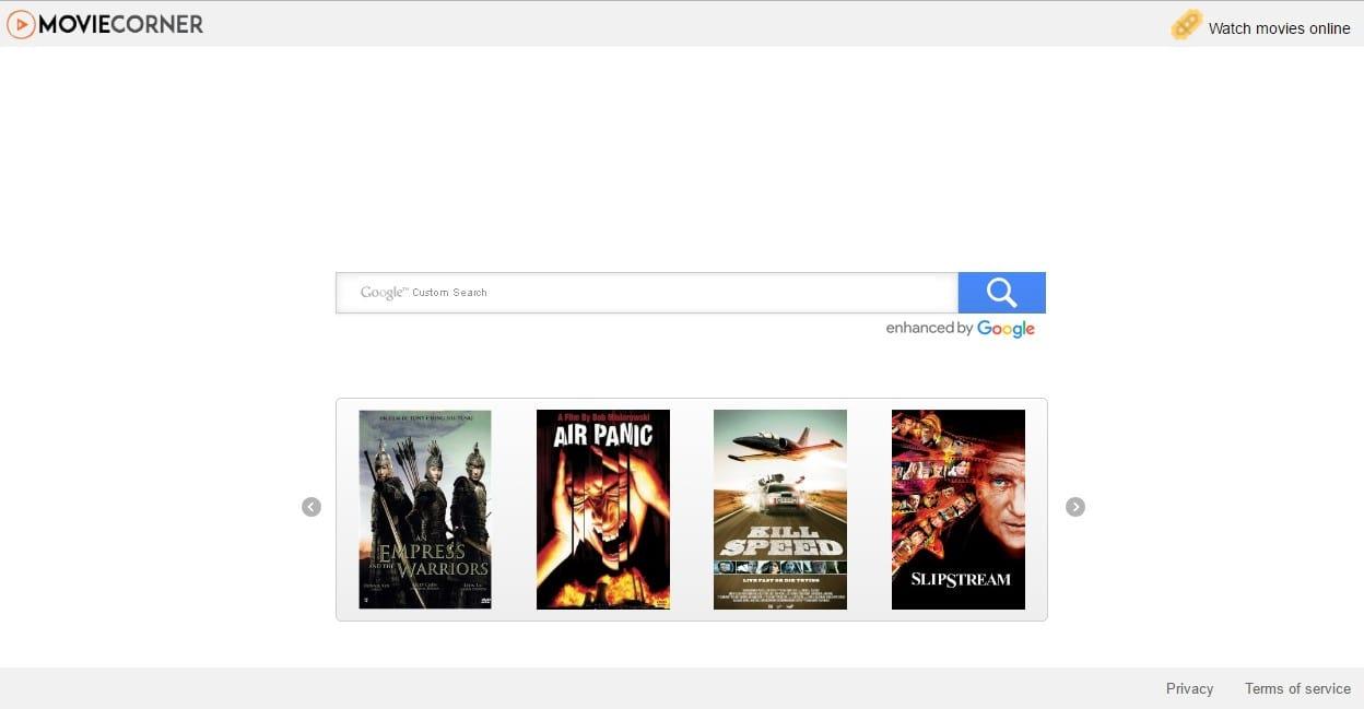 Search.moviecorner.com