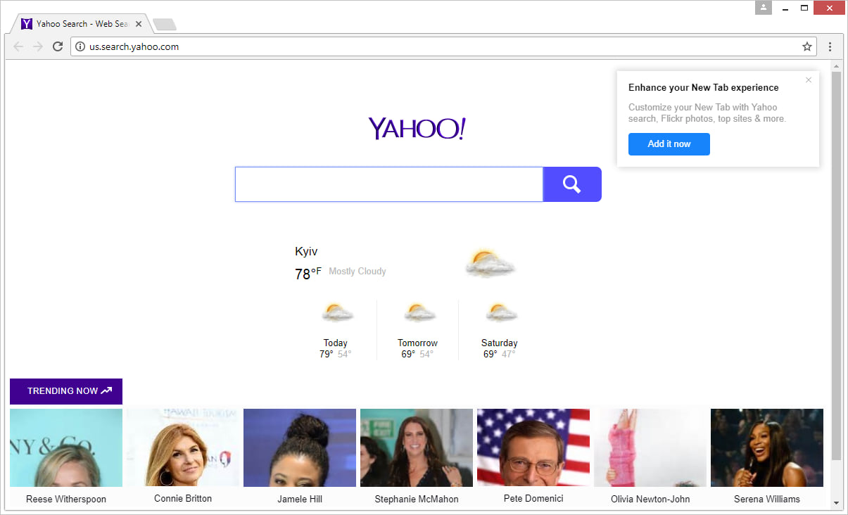 en.search.yahoo.com removal