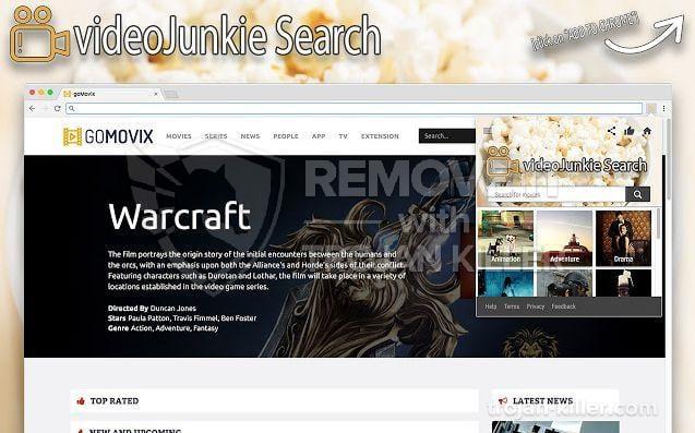 VideoJunkie Search virus