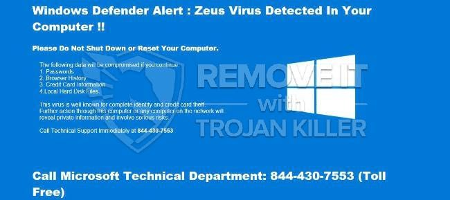 How to get rid of Zeus Virus