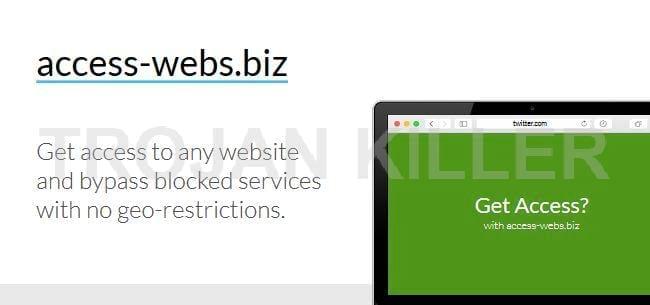 Access-webs.biz virus