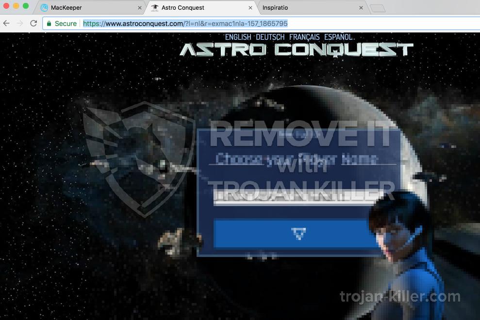 Astroconquest.com virus
