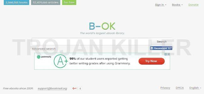B-ok.org - How to Remove and Get Rid of B-OK (BOK) Once Forever
