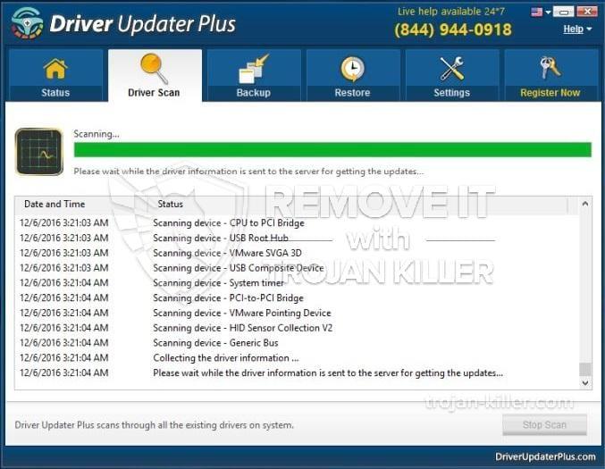Driver Updater Plus virus