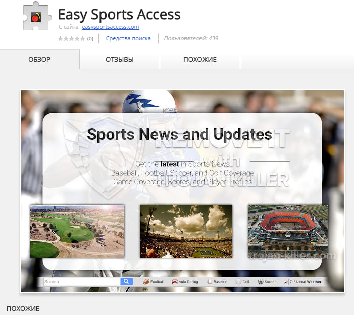 easysportsaccess.com virus
