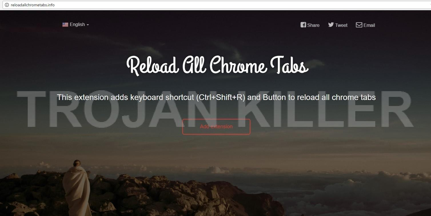 Reloadallchrometabs.info virus