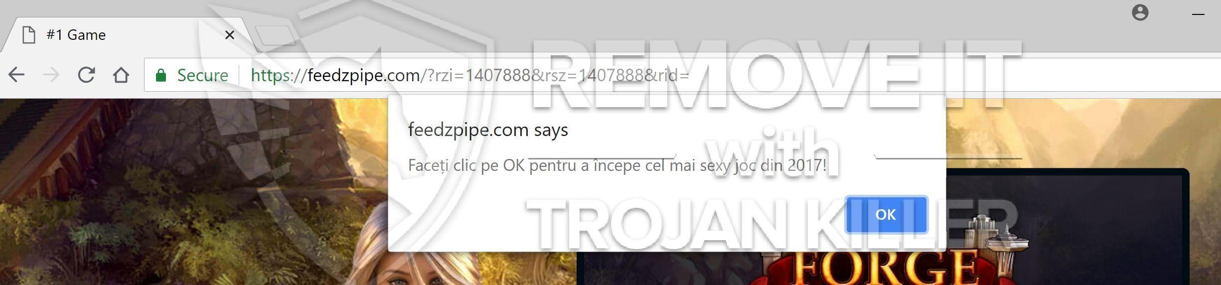 Feedzpipe.com virus