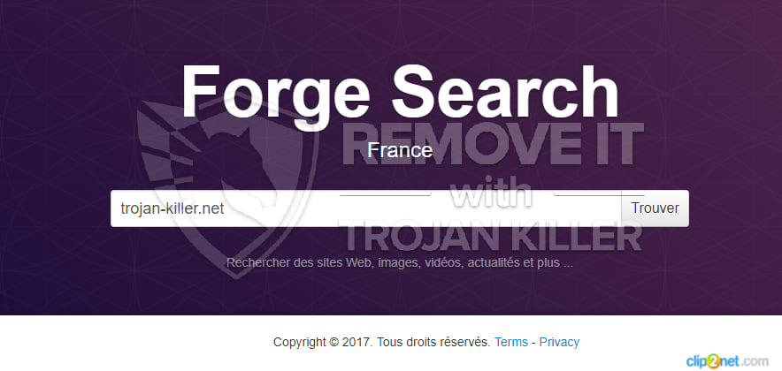 Forgesearch.com virus