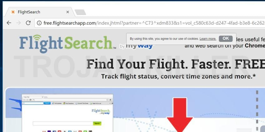 Free.flightsearchapp.com virus