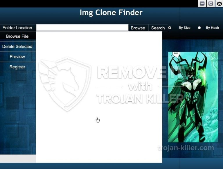remove Img Clone Finder