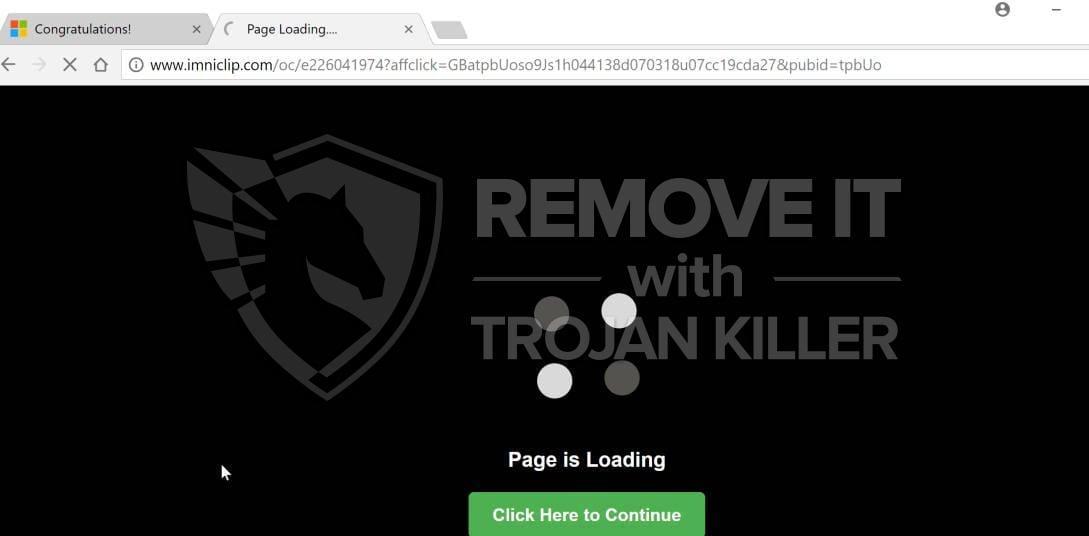 Imniclip.com virus