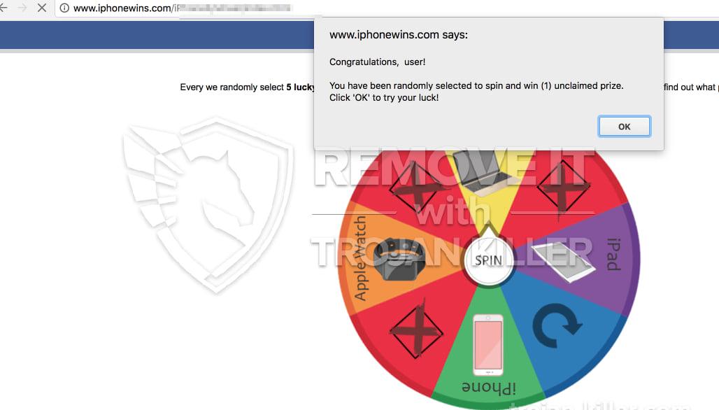 Iphonewins.com virus