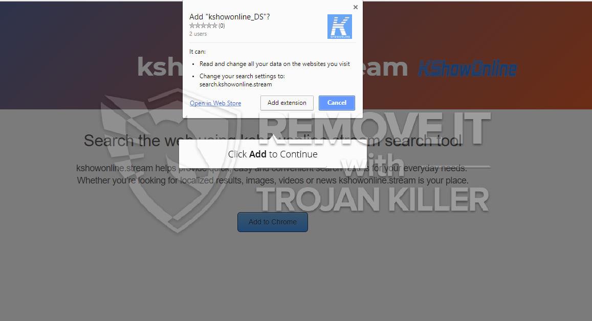 kshowonline.stream virus