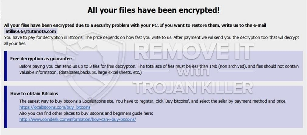 Beware leon ransomware how to get rid of leon completely trojan how to get rid of leon completely ccuart Choice Image