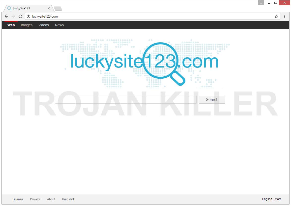 Luckysite123.com virus