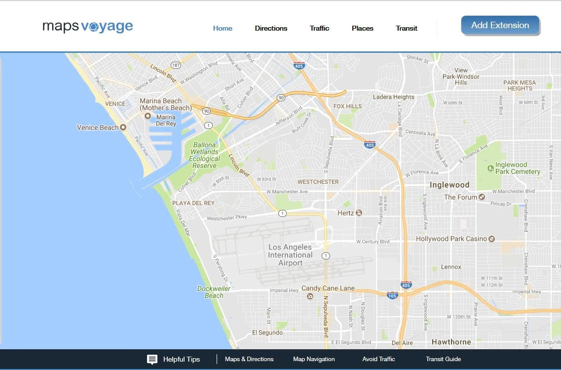 Mapsvoyage Extension
