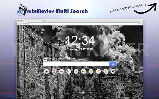 mixMovies Multi-Search