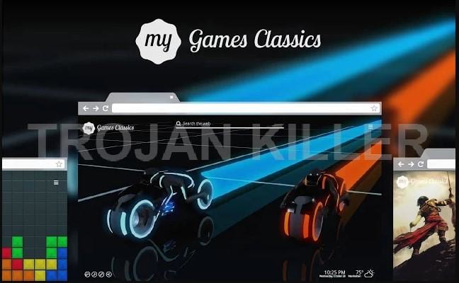My Games Classics virus