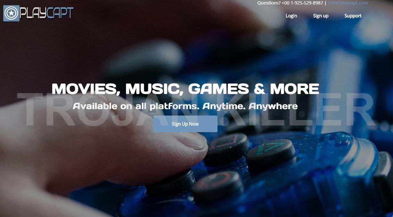 Playcapt.com virus