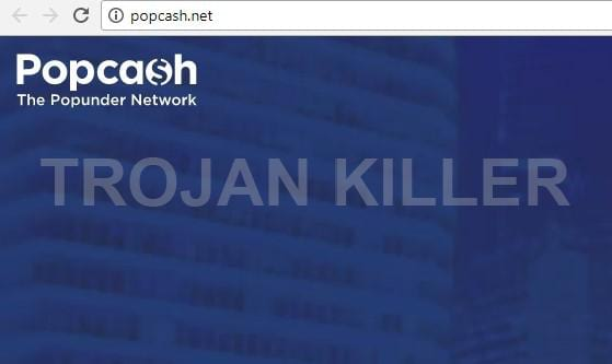 Popcash.net virus