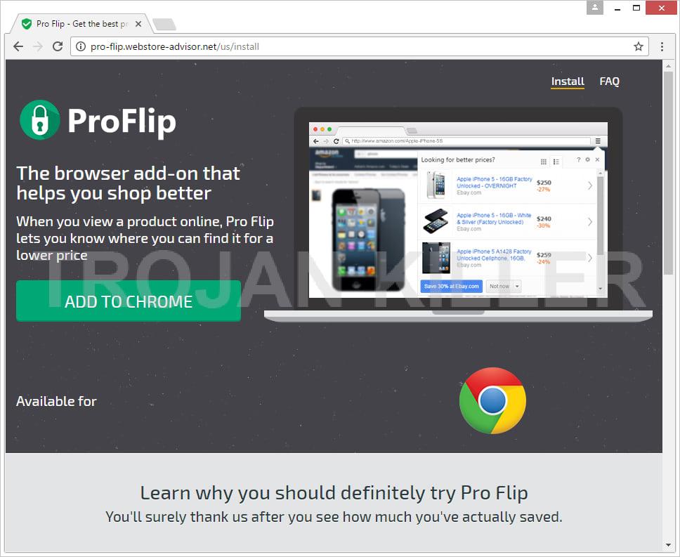 Pro Flip virus