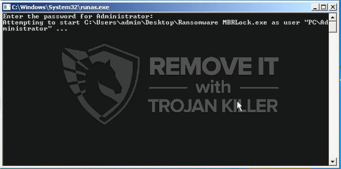 MBRlock Ransomware virus