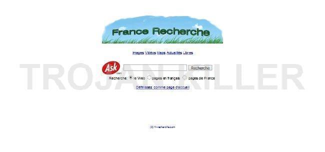 Recherchesweb.com virus