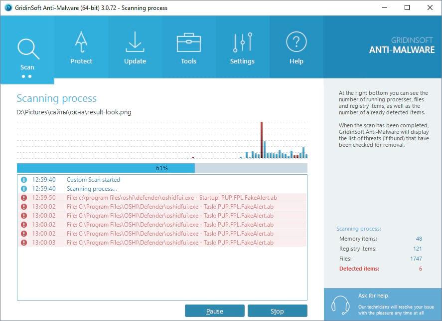 Anti-Malware Scan Process