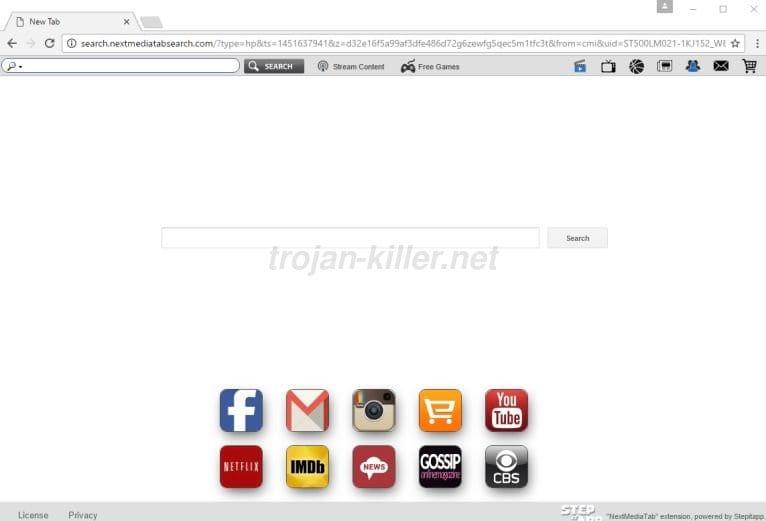 Search.nextmediatabsearch.com