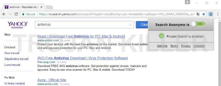 Searchanonymo.com virus