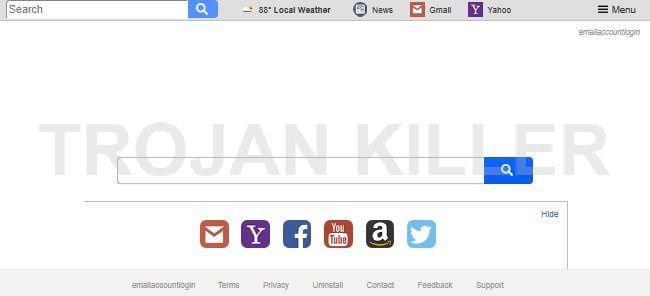 Searchisemail.com virus